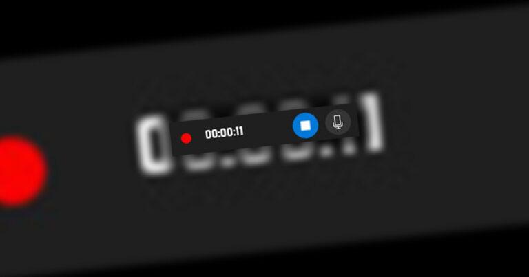 Nagrywanie ekranu w Windows 10