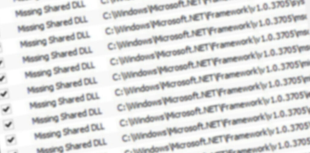 Czyszczenie rejestru w Windows 10