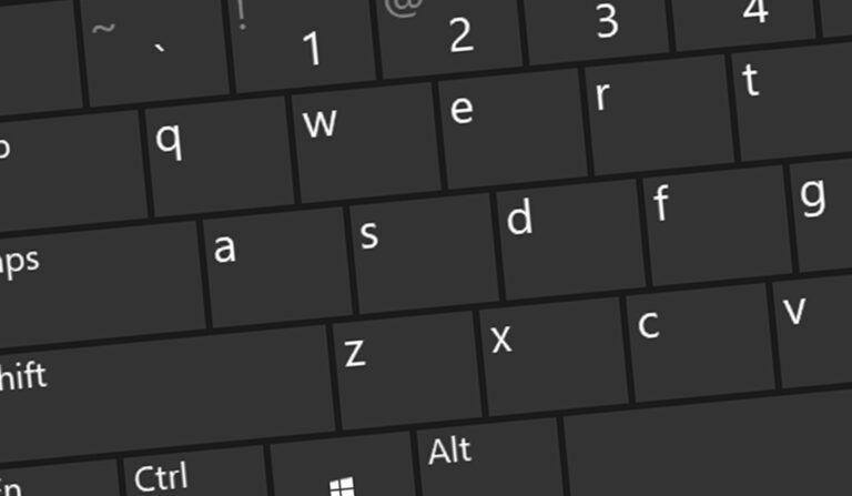 Klawiatura ekranowa w Windows 10