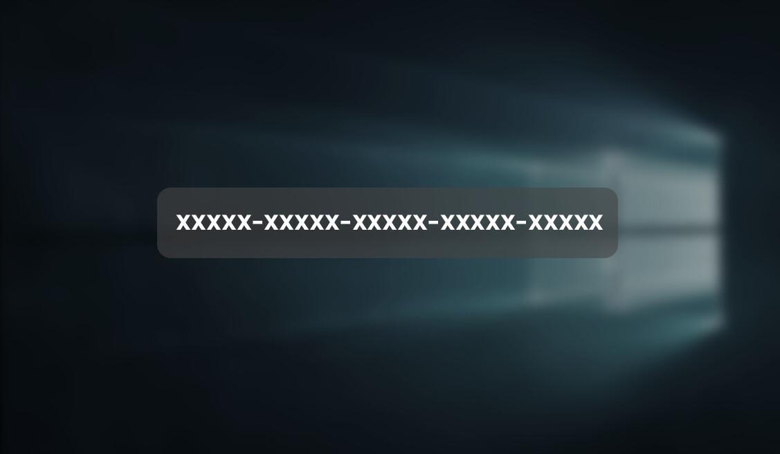 Klucz Windows 10