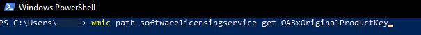 Wpisywanie komendy Windows PowerShell