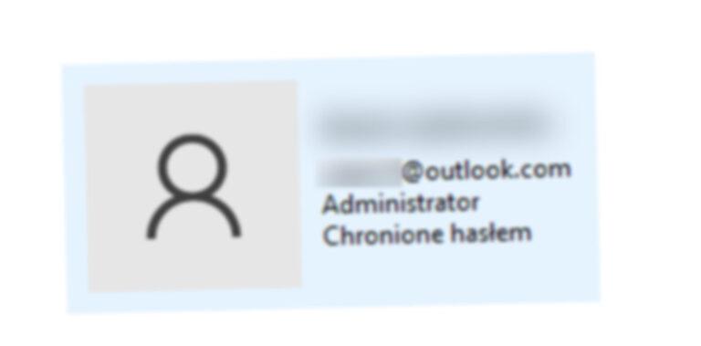 Zmiana nazwy użytkownika Windows 10