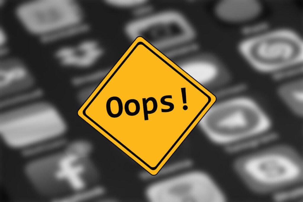 Aplikacja została zatrzymana - Jak naprawić ten błąd?