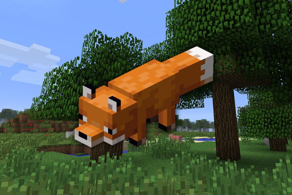 Jak oswoić lisa w Minecraft?