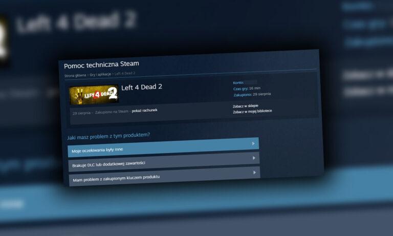 Jak zwrócić grę na Steam