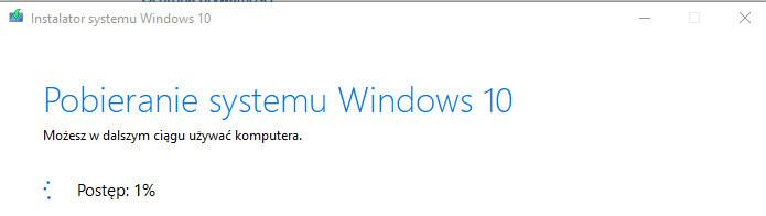 Pobieranie Windows 10