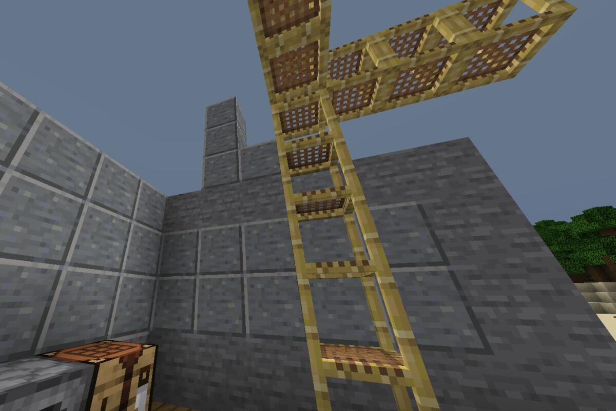 Rusztowanie w Minecraft