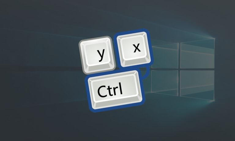 Skróty klawiszowe na Windows