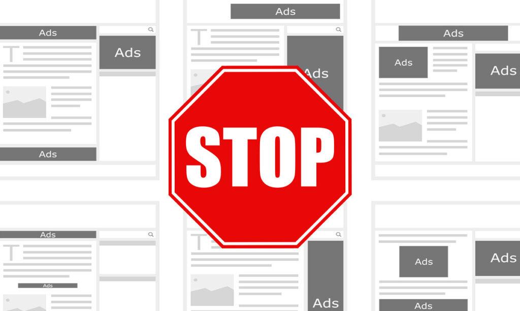 Jak wyłączyć blokowanie reklam w AdBlock?