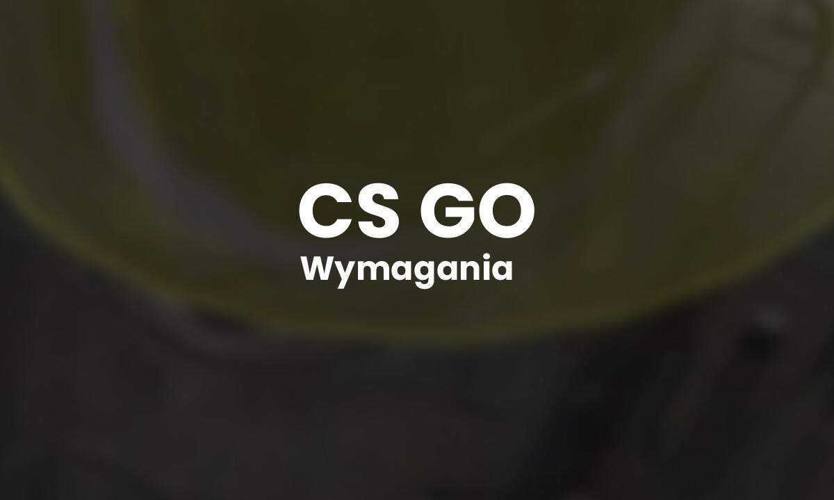 Wymagania CS GO